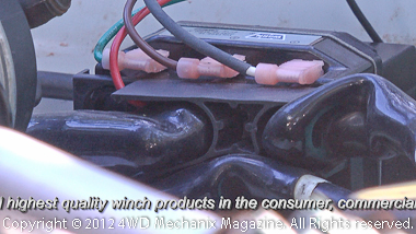 Remote contactor for using the Zeon as a low-profile winch