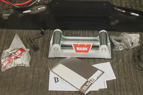 Installing Warn VR-series winch on a Jeep TJ Wrangler