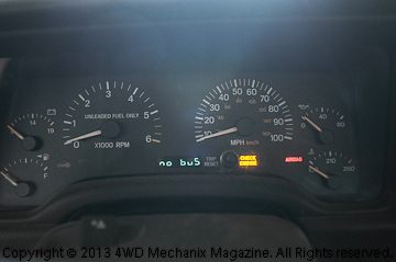"how-to: jeep xj cherokee erratic gauges and ""no bus"" fix"