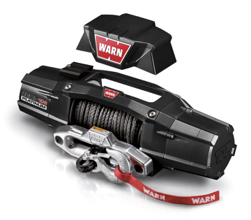 Warn ZEON Platinum winch with convertible control pack mount