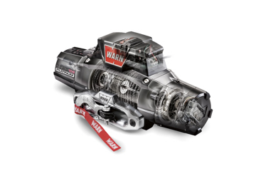 Warn ZEON Platinum winch with synthetic rope