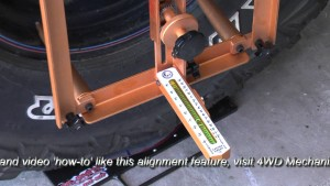 Moses Ludel's 4WD Mechanix Magazine – HD Video: TJ Wrangler Wheel Alignment Basics