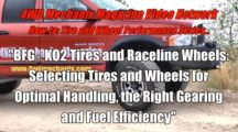 Selecting Tires and Wheels for Optimal Handling, Gearing and Fuel Efficiency