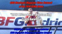 BFG® Presents the 2016 Outstanding Trails Awards