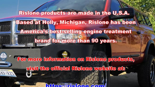 Rislone's Complete Diesel Fuel System Treatment: Cure for