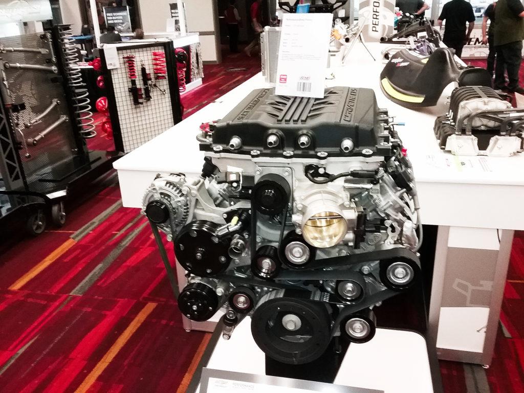 Corvette LT5 crate motor available from Chevrolet